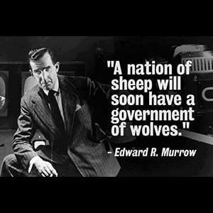 Words of wisdom from Edward R. Murrow